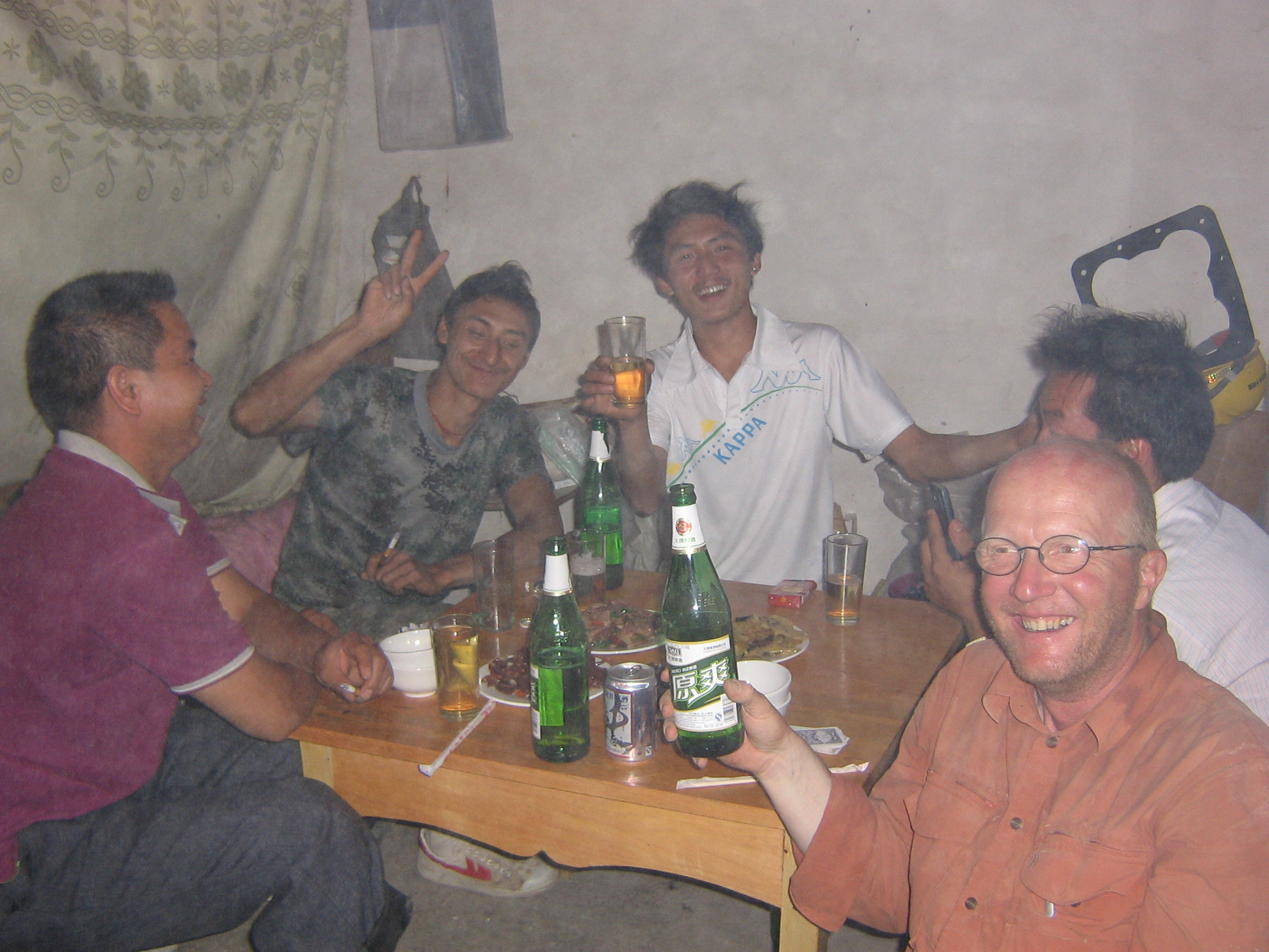 Drinking games with migrant workers
