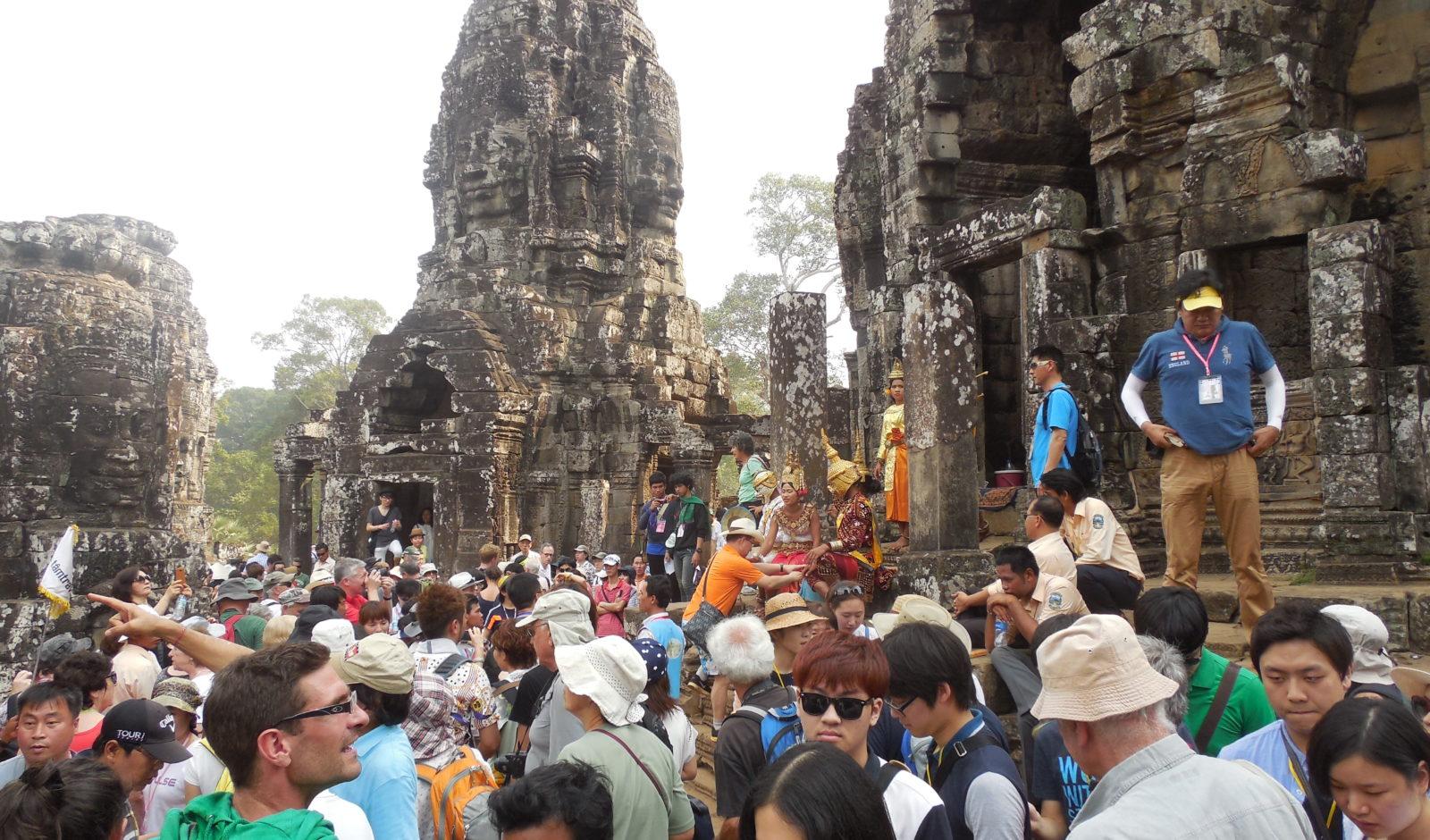 touristisches Angkor Wat