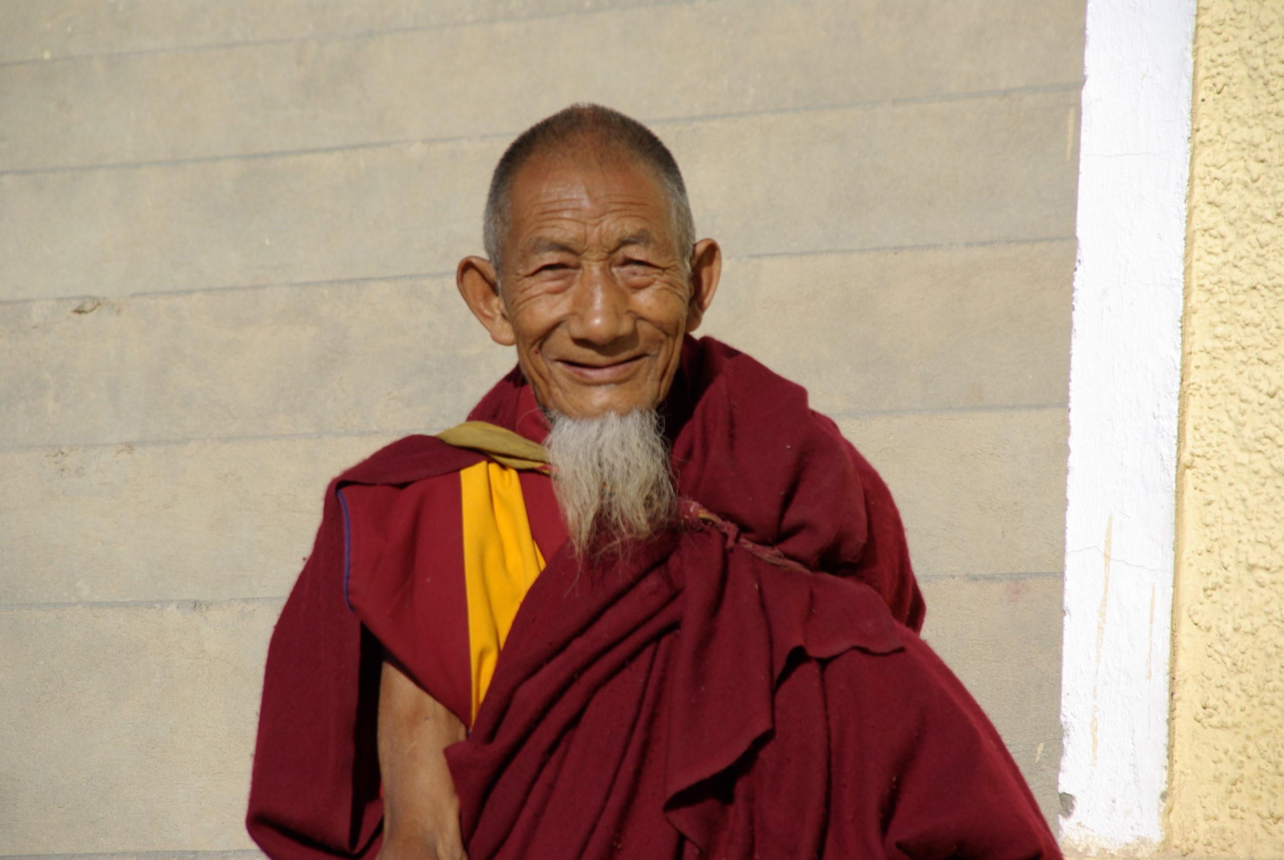 freundlicher Mönch